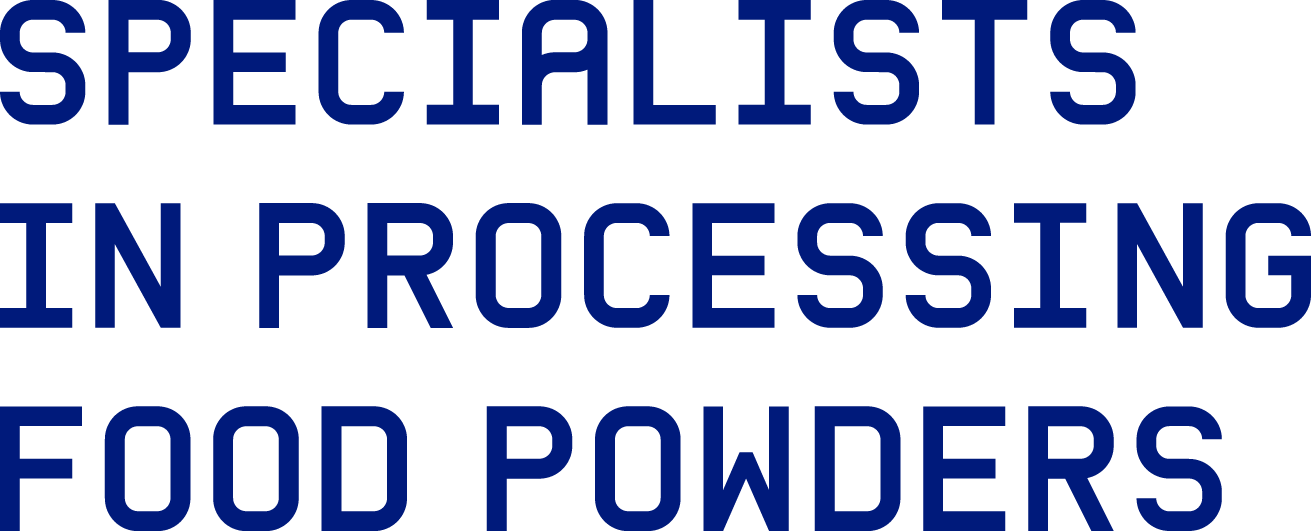 Specialists in processing food powders