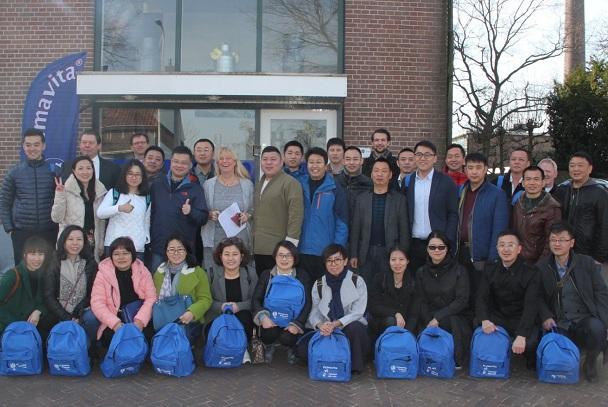 Bezoek uit China bij IDH